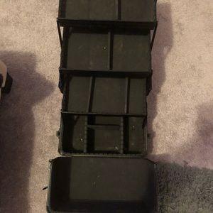 Sephora Makeup - Sephora Collection Black matte large Metal case